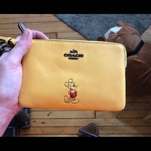 Rare Design Coach x Disney Wristlet